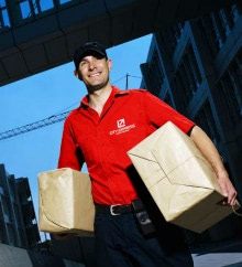 Бесконтактная доставка товаров