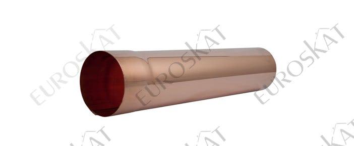 Труба водосточная 3000 MM AQUASYSTEM Медь