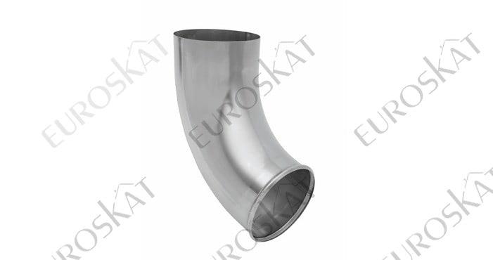 Отвод трубы Aquasystem Цинк Титан Ø150