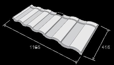 metrotile romana цена