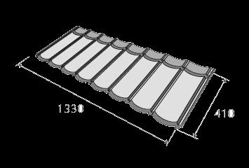 композитная черепица метробонд