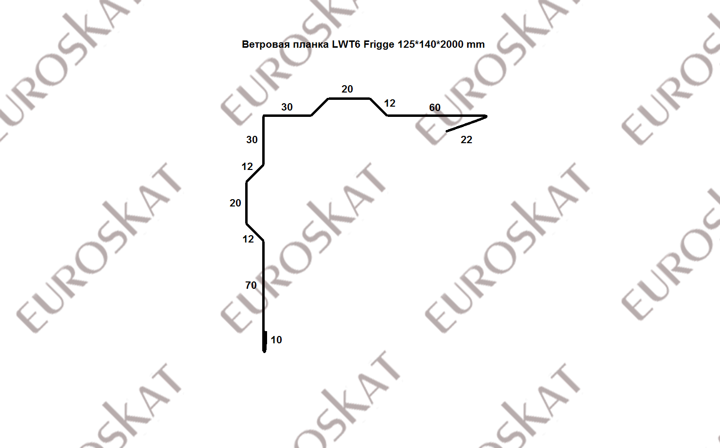 Ветровая планка Frigge LWТ6