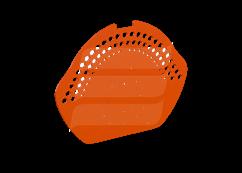Коньковый торцевой элемент